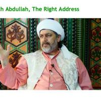 Sheikh Abdullah, The Right Address