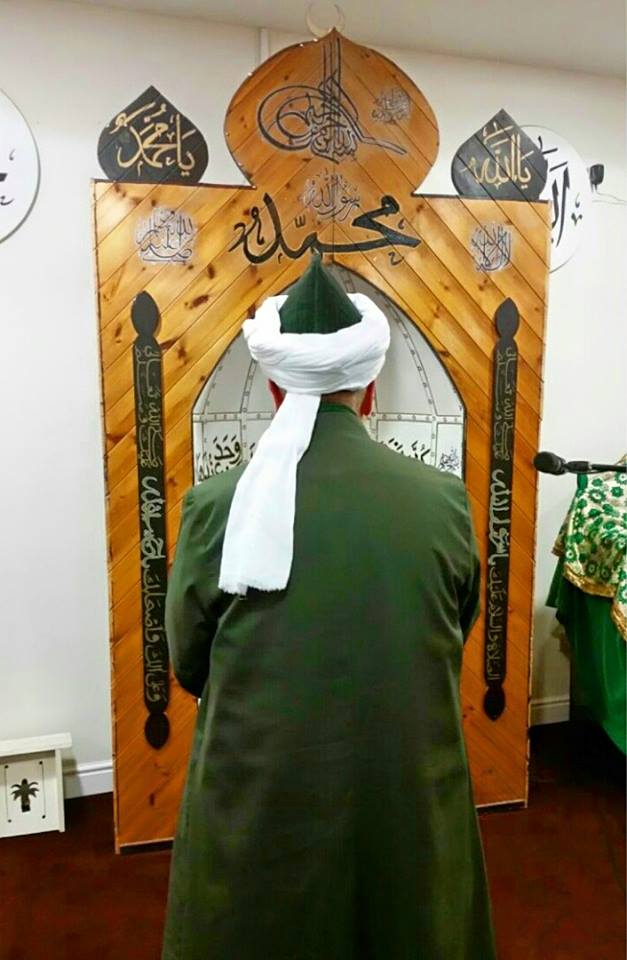 UK Spring Tour 2015, On the first day of the tour in Noor ul Islam Mosque, Bury