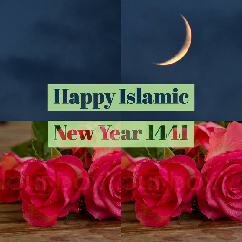 happy-new-year-islamic-1441-hijri-roses-moon