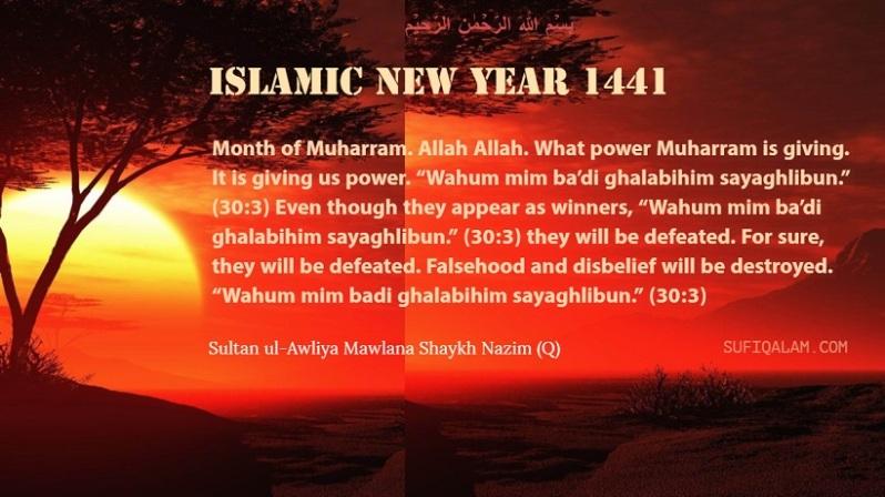 month of Muharram ul-Haram, Sohbat, Mawlana Sheikh Nazim Q