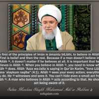 Allāh ﷻ Is Seeing Us