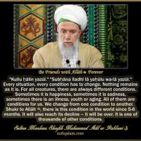Be Friends with Allāh ﷻ Forever